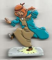 Tintin - Figurine Métal 5cm - Au Pays De L'or Noir - Figurines