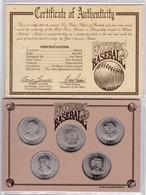 Set Of Hutt River 5 Dollars 1992 5 Coins - Monnaies