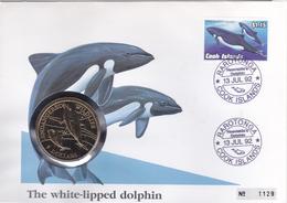 Cook Islands 5 Dollars 1991 - Islas Cook