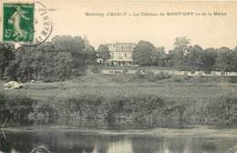 77 - LESCHES - MONTIGNY - Le Chateau En 1912 - Altri Comuni