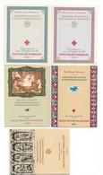 FRANCE - ENSEMBLE DE CARNETS CROIX ROUGE DONT ANNÉE 1960 - COTATION 239€ - LUXE** - Croix Rouge