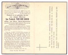 Devotie Doodsprentje Overlijden - Jan Van Den Bosch Echtg Maria Rijmenams - Sint Katelijne Waver 1906 - Korbeek Lo 1948 - Décès