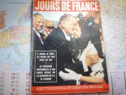 Jour De France N°140 20 Juillet 1957 Le Président René Coty En Alsace / Mariage De Dreux / Aga Khan III / Prince Charles - Gente