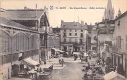 COMMERCE Halles Marché - 21 - DIJON : Halles Centrales( Animation )  Rue Claude Ramey - CPA - Côtes D'Or - Halles
