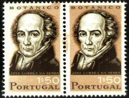 PORTUGAL, 1966, PORTUGUESE SCIENTISTS, CE#989X2, ERROR, MNH - Errors, Freaks & Oddities (EFO)