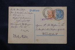 ALLEMAGNE - Entier Postal + Complément De Weingarten En 1921 - L 60114 - Ganzsachen