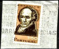 PORTUGAL, 1966, PORTUGUESE SCIENTISTS, CE#989, ERROR, O - Variétés Et Curiosités