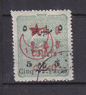 CILICIE 61 DOUBLE SURCHARGES OBL - Cilicia (1919-1921)