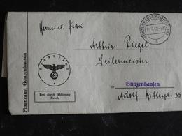 Orig.Bescheid Einkommensteuer Gunzenhausen 1941 - Partecipazioni