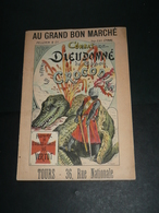 Ancien Livre Illustré Image D'Epinal Au Grand Bon Marché Tours 37 Ordre De Malte - Pubblicitari