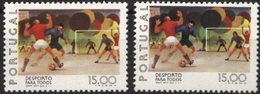 PORTUGAL, 1978, SPORTS FOR ALL, CE#1397, DIFFERENT COLORS, MNH - Errors, Freaks & Oddities (EFO)