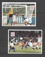 G457 LESOTHO SPORT FOOTBALL FIFA WORLD CUP USA 1994 !!! 2BL MNH - Coupe Du Monde