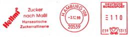 Freistempel 7592 Zucker Nach Maß Zuckerraffinerie - Affrancature Meccaniche Rosse (EMA)