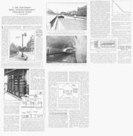 LES CELLULES PHOTOELECTRIQUE Et ECLAIRAGE PUBLIC ( AVENUE FOCH à PARIS )  1933 - Autres