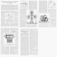 DES EOLIENNES De 600 METRES DE HAUT   1933 - Ciencia & Tecnología
