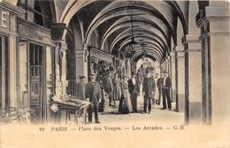 PARIS-75003-  PLACE DES VOSGES  LES ARCADES - District 03