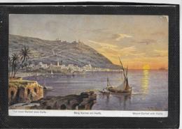 AK 0478  Perlberg , F.  Berg Karmel Mit Haifa ( Palästina ) / Künstlerkarte Um 1910-20 - Perlberg, F.