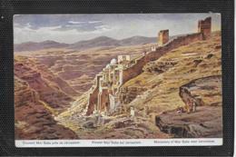 AK 0478  Perlberg , F.  - Kloster Mar Saba Bei Jerusalem ( Palästina ) / Künstlerkarte Um 1910-20 - Perlberg, F.