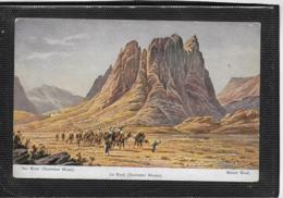 AK 0478  Perlberg , F.  - Der Sinai , Dschebel Musa ( Palästina ) / Künstlerkarte Um 1910-20 - Perlberg, F.