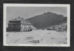 AK 0478  Riesengebirge - Schlesierhaus Und Schneekoppe Um 1925 - Schlesien