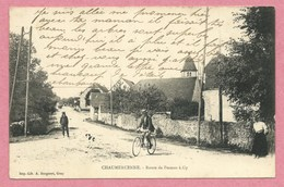 70 - CHAUMERCENNE - Route De Pesmes à Gy - Voir état - Autres Communes