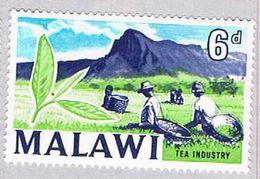 Malawi 10 MNH Harvesting Tea 1964 CV 1.00 (BP41718) - Malawi (1964-...)