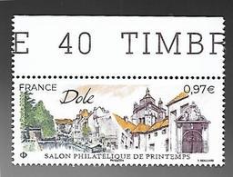 France 2020 - Yv N° 5389 ** - Dole - Salon Philatélique De Printemps - France