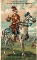 CHROMO CHOCOLAT POULAIN GENERAL D'ARMEE 1580 - Poulain