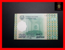 TAJIKISTAN 20 Diram 1999 P. 12  UNC - Tadschikistan