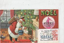 Billet De Loterie Pere Noel Ancien - Lotterielose