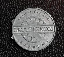 "Jeton De Téléphone Zinc Lettonie ""Lattelekom"" Phone Token - Noodgeld"