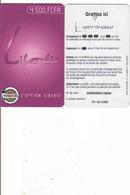 Togo, Libertis Prepaid Carte, Expiring 31.12. 2002 - Togo