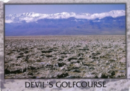 USA - CA - Death Valley National Monument - Devil's Golfcourse -  (circ. 1995) - Death Valley