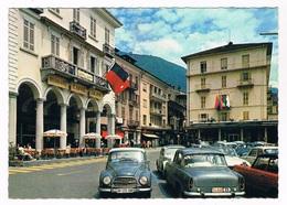 CH-5976   LOCARNO : Piazza Grande ( Auto Union - TI Tessin