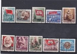 DDR, Nr. 344/53, Gest. (T 16179) - Used Stamps