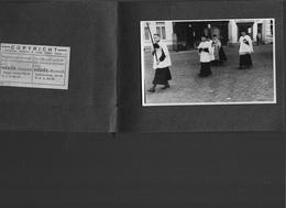 SI/ BOOM  1942 BEGRAFENISSTOET EUG.VERMANT   13 FOTOS IN BOEKJE   MET CORBILLARD!!!! - Photos