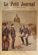 Le Petit Journal-1895-217-DEGRADATION ALFRED DREYFUS-CAPITAINE ROMANI, GENES - Journaux - Quotidiens