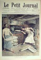 Le Petit Journal-1907-858-25/4-GREVE OUVRIERS BOULANGERS-LA TAILLE DES ARBRES A PARIS - Newspapers