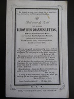 Dp Ludovicus Lutens Dendermonde Gent Gemeenteraadslid 1794 - 1856 - Religion & Esotericism