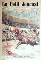 Le Petit Journal-1911-1069-TOULON CORRIDA TRAGIQUE-MAROC COURRIER/FEZ ASSAILLI - Journaux - Quotidiens