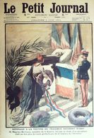 Le Petit Journal-1911-1072-HOMMAGE ACCIDENT ISSY AEROPLANE-DRAKKAR NORMANDIE - Newspapers