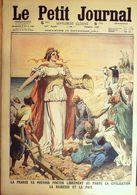 Le Petit Journal-1911-1096-TRIPOLI GUERRE SAINTE-MAROC/PAIX/RICHESSE - Le Petit Journal