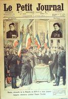 Le Petit Journal-1912-1116-MONTGERON PIEGE-CHANTILLY-FEMMES DECOREES - Newspapers