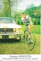 Jacques Anquetil  Pub  Ford - Radsport
