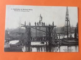 Montreuil Bellay Catastrophe Ferroviaire Travaux De Relevage Du Pont Ouvrage Maître D œuvre Ingénierie - Montreuil Bellay