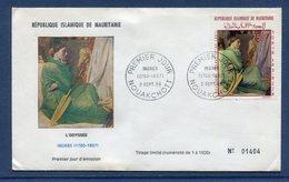 Mauritanie - FDC - Premier Jour - Ingres - L'Odyssée - 1968 - Mauritanië (1960-...)