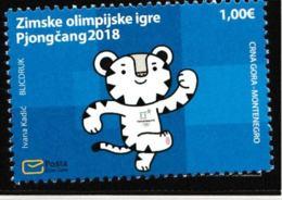 Montenegro 2018 PyeongChang Olympic Games   MNH/** (H60) - Winter 2018: Pyeongchang