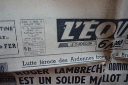 L'équipe- 2-3/7/1949 - Autres