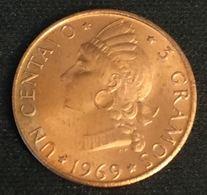 REPUBLIQUE DOMINICAINE - 1 CENTAVO 1969 - FAO - KM 32 - REPUBLICA DOMINICANA - Dominicaine