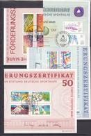 Berlin - 1981/87 - Deutsche Sporthilfe - Sammlung - Gest. - [5] Berlin